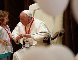 В Риме прошла премьера фильма, в котором Папа Франциск сыграл самого себя