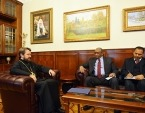 Митрополит Волоколамский Иларион встретился с главой эфиопской дипломатической миссии в России