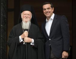 Константинопольский Патриарх Варфоломей встретился с премьер-министром Греции Алексисом Ципрасом