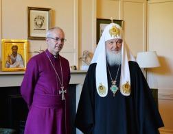 Глава англиканской церкви встретится в Москве с Патриархом Кириллом