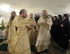 Состоялось великое освящение храма-усыпальницы праведного Иоанна Кронштадтского в Иоанновском монастыре Санкт-Петербурга
