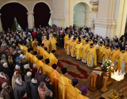 Патриарший Экзарх всея Беларуси возглавил торжества по случаю 1025-летия Полоцкой епархии