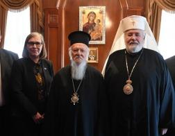 Архиепископ Карельский и всей Финляндии Лев встретился с Константинопольским Патриархом Варфоломеем