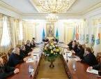 Состоялась встреча архипастырей Казахстанского митрополичьего округа с министром по делам религий и гражданского общества Казахстана