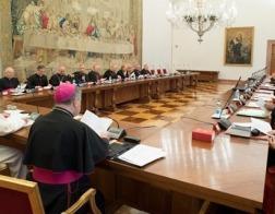 Папа Римский Франциск провел встречу с руководителями дикастерий Римской курии