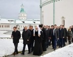 Президент России, Святейший Патриарх Кирилл и председатель Правительства России посетили Ново-Иерусалимский ставропигиальный монастырь
