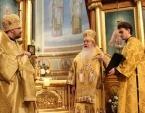 Предстоятель Православной Церкви в Америке возглавил торжества по случаю 100-летия избрания на Московский Патриарший престол святителя Тихона и 115-летия великого освящения Патриаршего собора Нью-Йорка