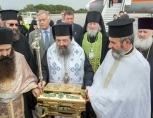 Тысячи греков встретили в Патрах частицу мощей преподобного Серафима Саровского