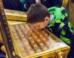 Ковчег с частицами мощей 54-х новомучеников Церкви Русской принесен в Минск