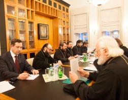 Ректор Минской духовной академии принял участие в заседании Межведомственной координационной группы по преподаванию теологии в вузах