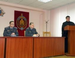 Представитель Синодального отдела по тюремному служению Белорусского Экзархата провел информационный час для служащих Департамента финансов и тыла МВД
