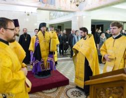 Торжественным молебном начались Третьи Белорусские Рождественские чтения