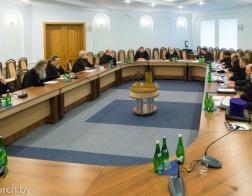 Состоялось заседание Епархиального совета Минской епархии в расширенном составе