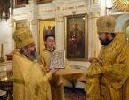 Митрополит Волоколамский Иларион возглавил торжества по случаю престольного праздника московского подворья Иерусалимской Церкви