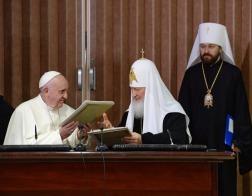 Патриарх Кирилл рассказал об итогах встречи с Папой Римским