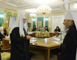 Патриарх Кирилл обеспокоен попытками украинских политиков вмешиваться в дела Церкви