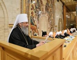 Завершился второй день работы Архиерейского Собора Русской Православной Церкви