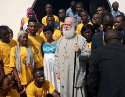 Патриарх Феодор освятил храм нового скита Александрийского Патриархата в Камеруне