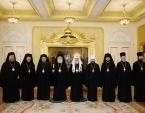 Состоялась встреча Святейшего Патриарха Кирилла с Блаженнейшим Патриархом Александрийским Феодором