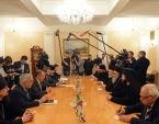 Предстоятель Антиохийской Православной Церкви встретился с министром иностранных дел России С.В. Лавровым