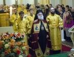 Патриарх Александрийский Феодор II совершил Божественную литургию в Александро-Невской лавре