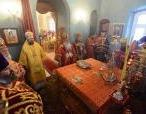 Блаженнейший Митрополит всей Америки и Канады Тихон совершил Литургию в престольный праздник московского Подворья Православной Церкви в Америке