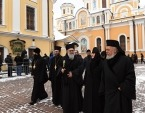 Предстоятель Антиохийской Православной Церкви посетил Покровский монастырь в Москве