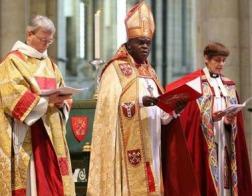 Беженка из Ирана была посвящена в сан епископа города Лафборо в Англии