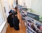 В Александро-Невской лавре открылась выставка, посвященная служению Святейшего Патриарха Кирилла