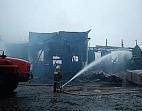 В Рязанской области сгорел Преображенский храм XIX века