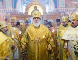В день памяти святителя Николая Чудотворца митрополит Павел совершил Литургию в Никольском приходе поселка Привольный