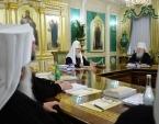 Священный Синод назначил ряд архиереев на зарубежные кафедры Московского Патриархата