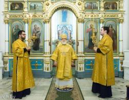 В канун Недели перед Рождеством Христовым Патриарший Экзарх совершил всенощное бдение в Свято-Духовом кафедральном соборе города Минска