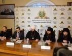 Состоялась пресс-конференция по итогам Архиерейского Собора Русской Православной Церкви
