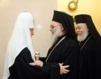 Состоялась встреча Святейшего Патриарха Кирилла с Блаженнейшим Патриархом Антиохийским Иоанном X