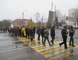 По улицам Партизанского района столицы прошел крестный ход трезвости