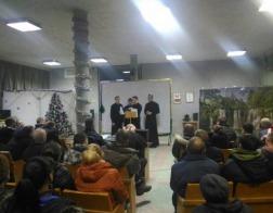 Студенты Минской духовной семинарии выступили с концертом в исправительной колонии