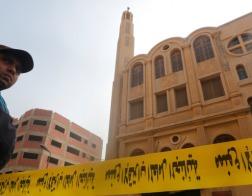 По меньшей мере, 11 человек убиты в результате обстрела коптского храма в пригороде Каира