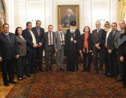 Представители арабских дипломатических миссий в Болгарии совместно посетили Патриарха Неофита по случаю Рождества
