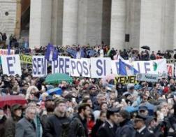 По случаю 51-го Всемирного дня мира в сотнях городов мира прошли шествия и демонстрации