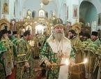 Председатель Синодального отдела по монастырям и монашеству возглавил торжества престольного праздника в Иоанновском монастыре Санкт-Петербурга