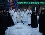 Блаженнейший митрополит Онуфрий совершил Литургию в Зимненском монастыре на Волыни