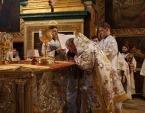 Митрополит Киевский Онуфрий совершил Литургию в Почаевской лавре
