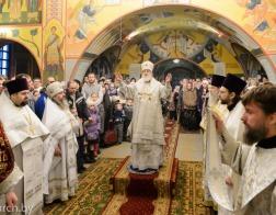В день памяти мучеников младенцев Вифлеемских митрополит Павел совершил Литургию в храме в честь Рождества Христова деревни Большое Стиклево