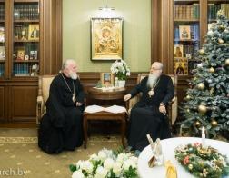 Митрополит Филарет и митрополит Павел обменялись поздравлениями с праздником Рождества Христова
