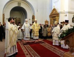 В день памяти святителя Макария Московского митрополит Павел возглавил Литургию в Спасо-Евфросиниевском женском монастыре города Полоцка