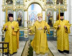 В канун Недели перед Богоявлением митрополит Павел совершил всенощное бдение в Свято-Духовом кафедральном соборе города Минска