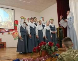 Воспитанники воскресной школы Введенского храма столицы поздравили курсантов Академии МВД с Рождеством Христовым