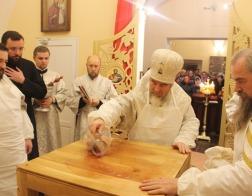 Освящен первый в Туровской епархии храм в честь преподобного Серафима Саровского