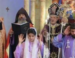 В Армянской Апостольской Церкви рукоположили диаконису